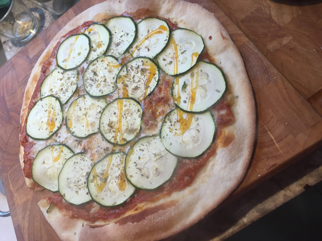 ciasto na pizzę, pizza