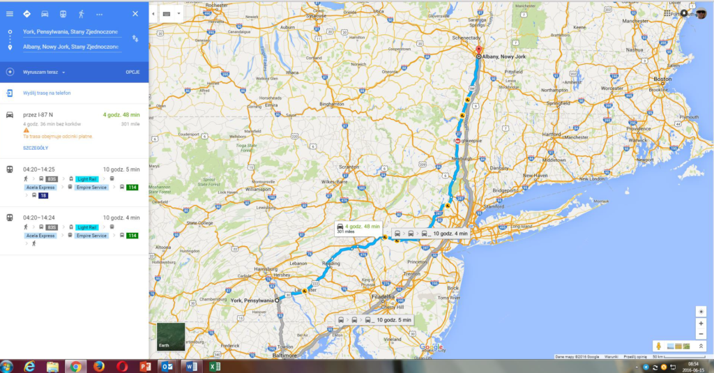Discover America Trip day 31 coming back to York